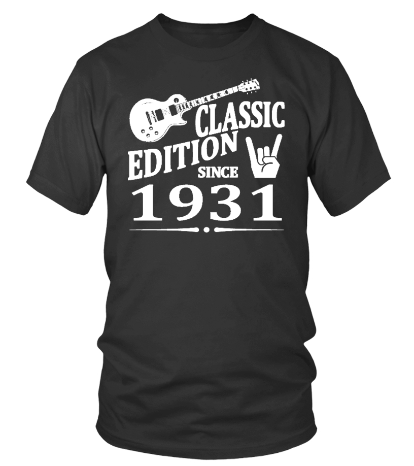 tee shirt classic edition since 1931