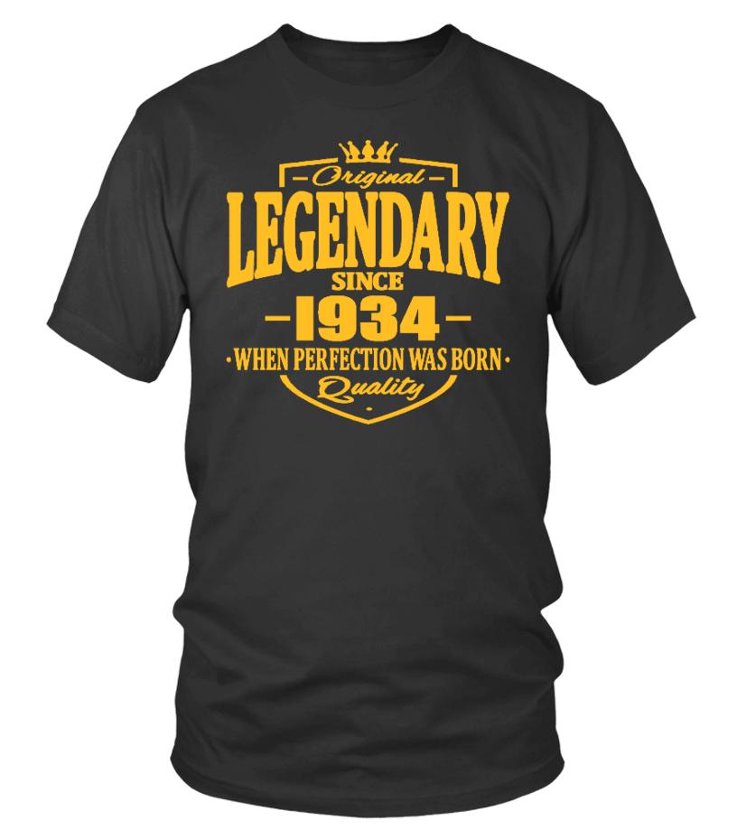 original legendary since 1934