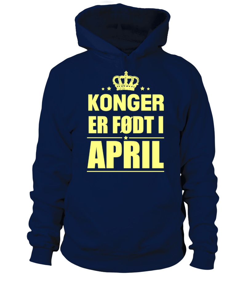 KONGER  ER FØDT I  APRIL