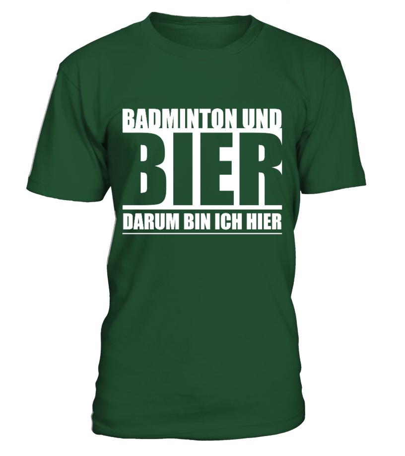 BADMINTON UND BIER - LIMITIERTE EDITION