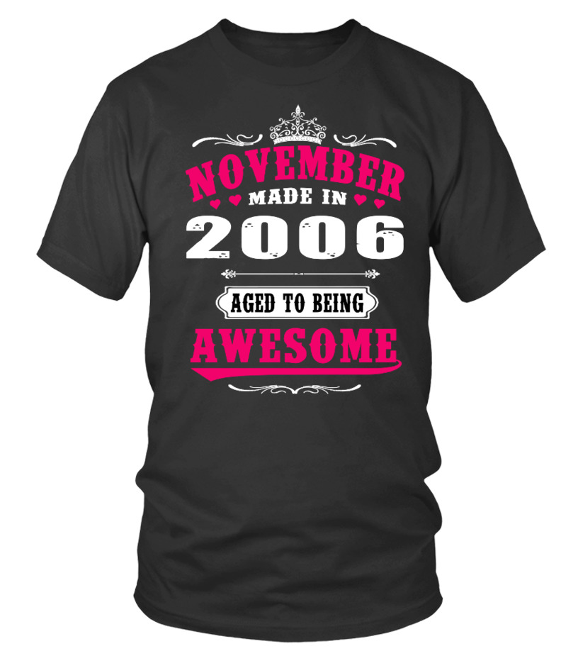 2006 - November Aged to being Awesome