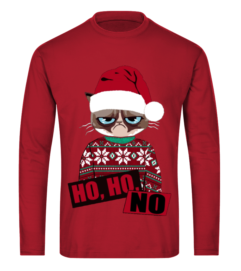 Best Christmas - Ltd Edition Ho Ho No Christmas Long sleeved T-shirt Unisex
