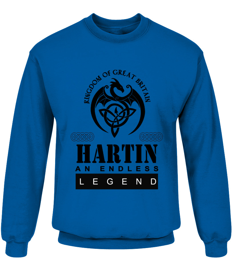 THE LEGEND OF THE ' HARTIN '