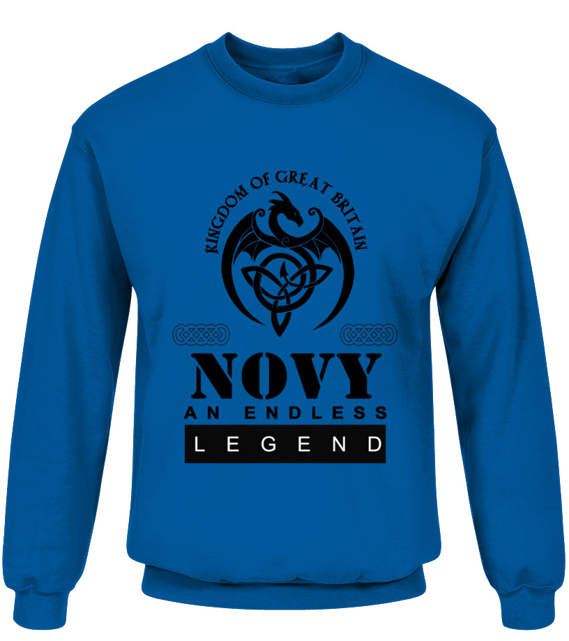 THE LEGEND OF THE ' NOVY '