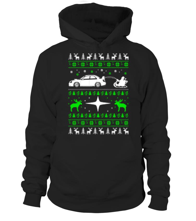Gifts Christmas - car Christmas- Hoodie Unisex