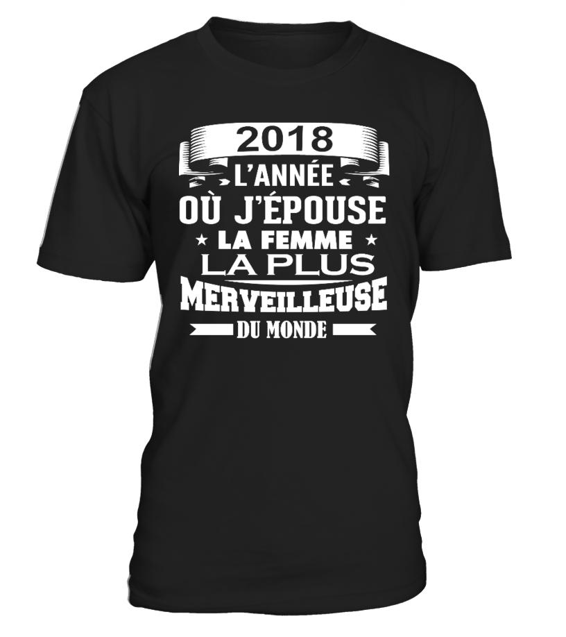 marié 2018 - Mariage T Shirt - Pull