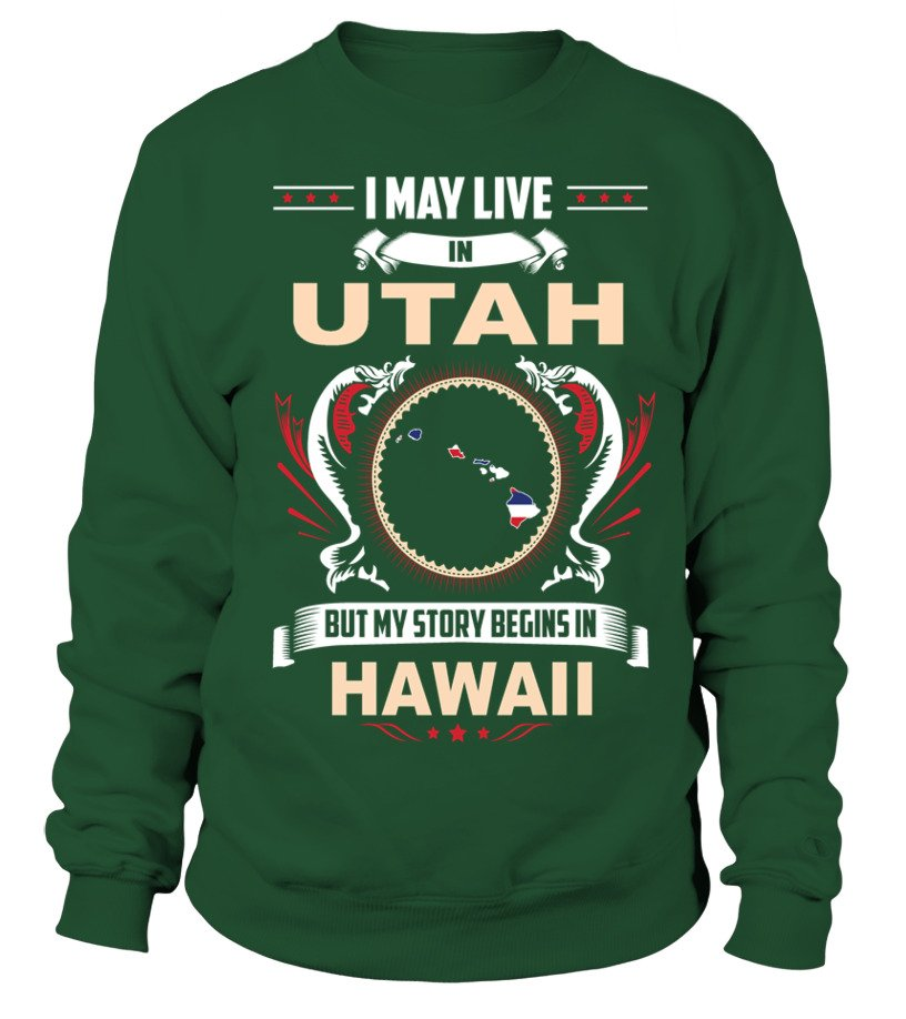 May I Live In UTAH But My Story Begins In HAWAII