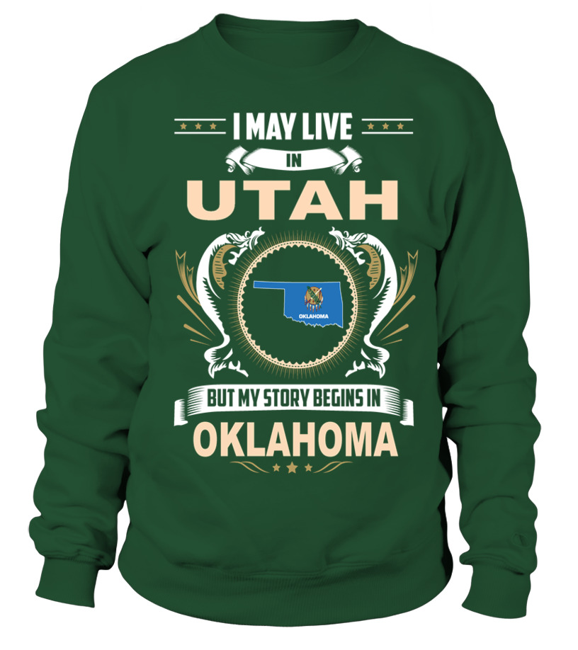 May I Live In UTAH But My Story Begins In OKLAHOMA