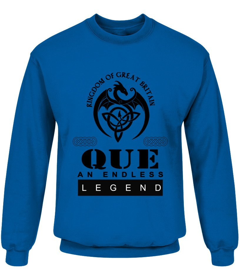 THE LEGEND OF THE ' QUE '