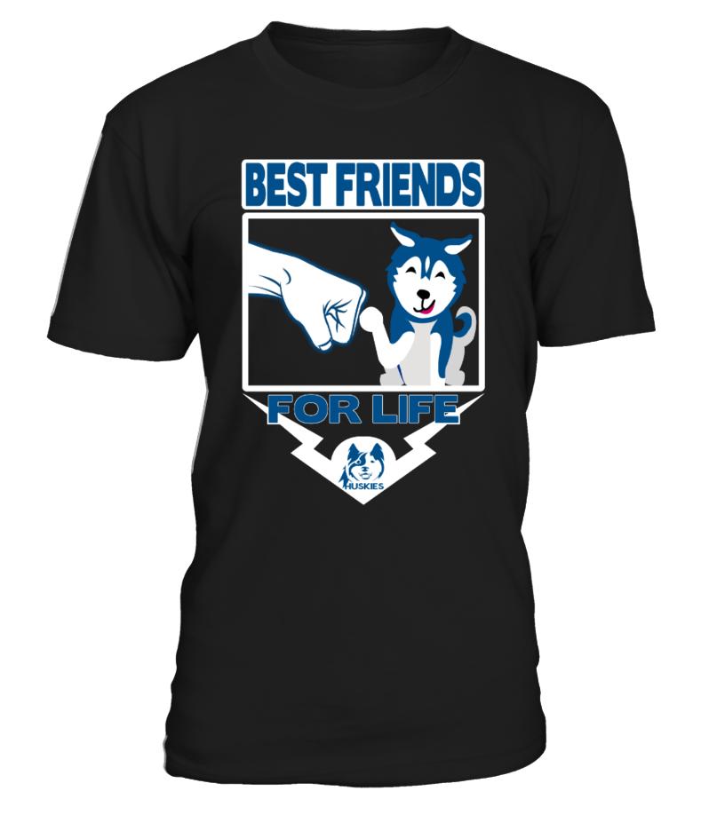 HUSKY T-Shirt : FRIENDS FOR LIFE