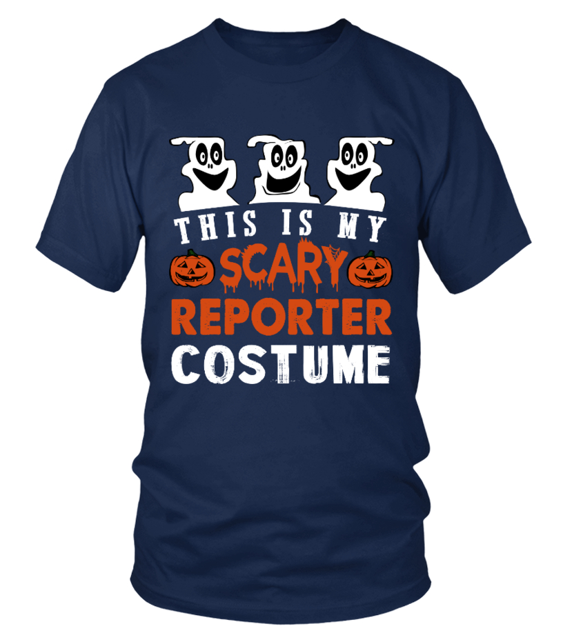 This is My Scary Reporter Costume Hallow