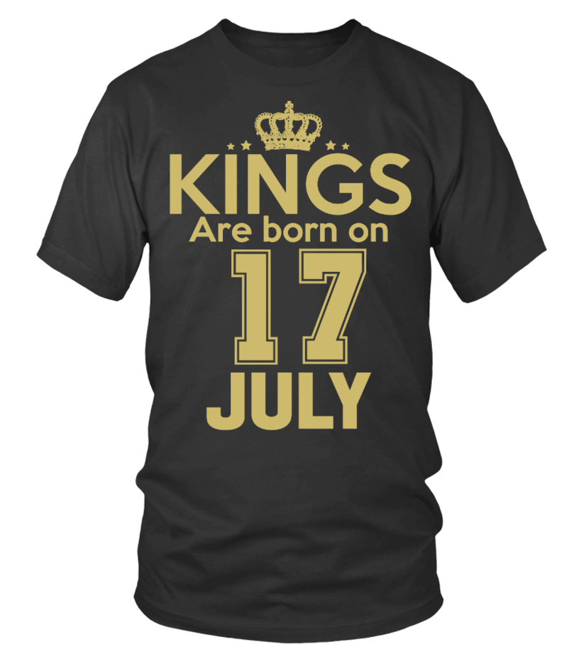 KINGS ARE BORN ON 17 JULY