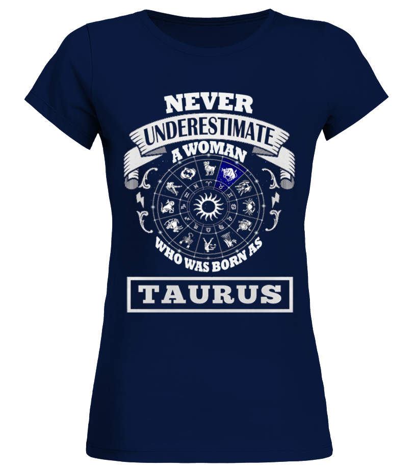 Awesome May T-Shirt - Woman Taurus Round neck T-Shirt Woman