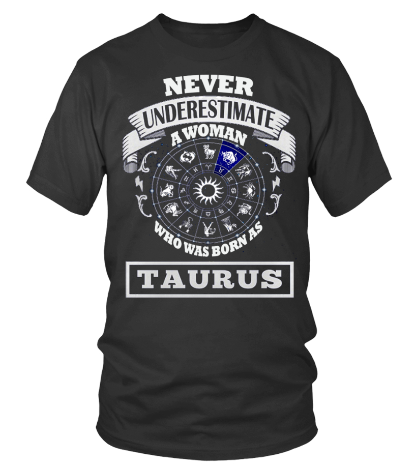 Awesome May T-Shirt - Woman Taurus Round neck T-Shirt Unisex