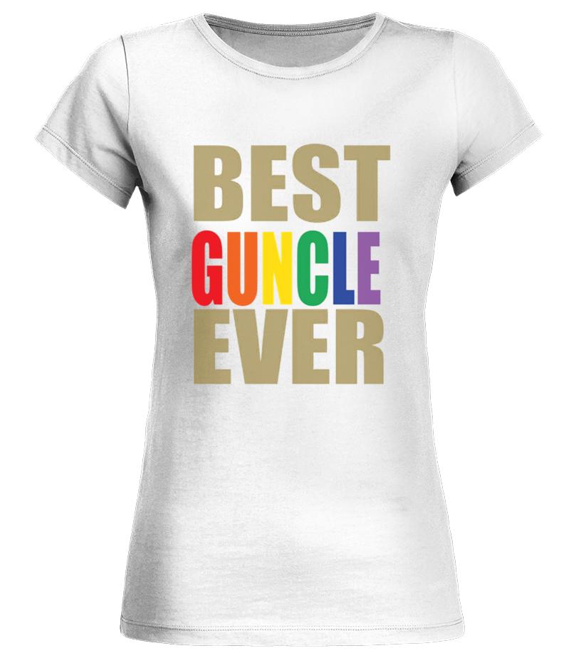 3c7cf472a511 Best Best Gay Uncle Guncle Pride T shirt Shirts, Hoodies Round neck T-Shirt