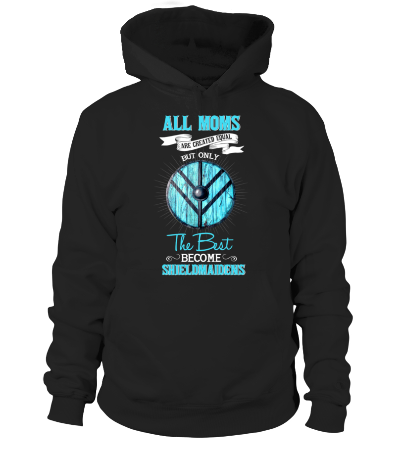 Gifts Mother - All Moms Shield Blue Hoodie Unisex