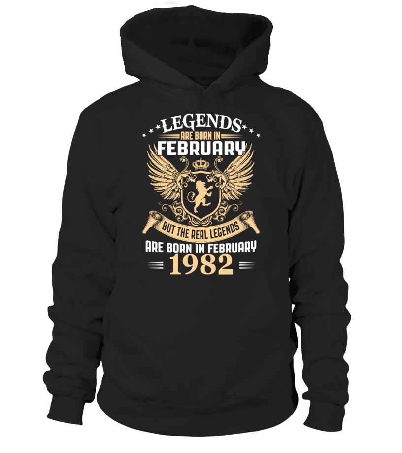 Legends Are Born In February 1982