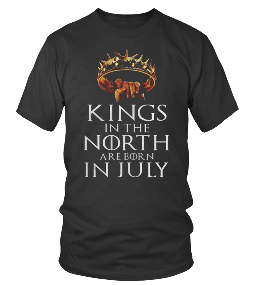 Amazing July T-Shirt - Kings Born July T-Shirt Tank-top Mug Round neck T-Shirt Unisex