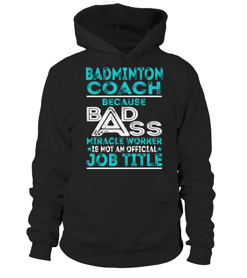 Best Badminton - Badminton Coach Hoodie Unisex