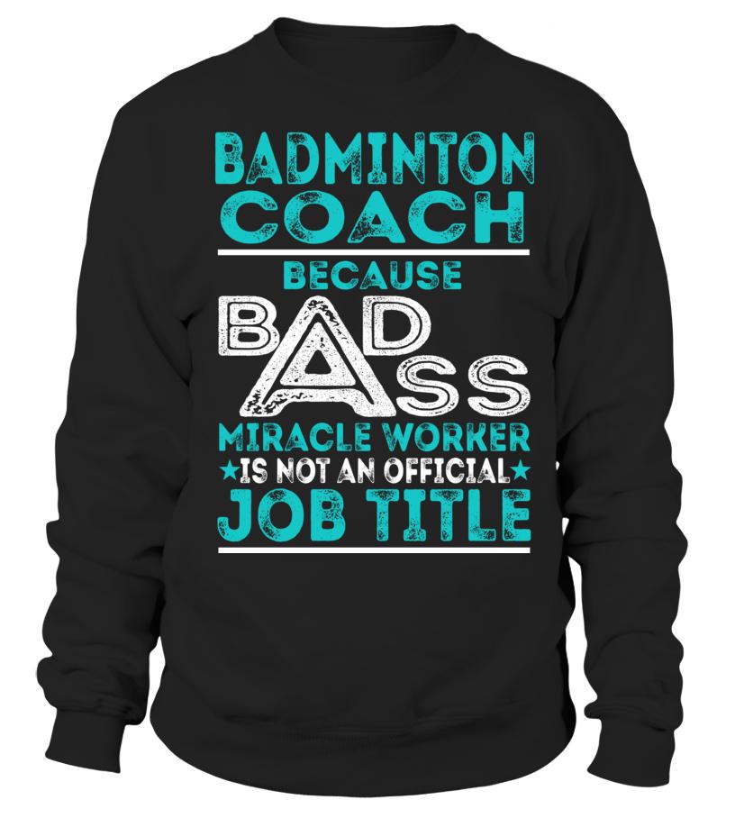 Best Badminton - Badminton Coach Sweatshirt Unisex