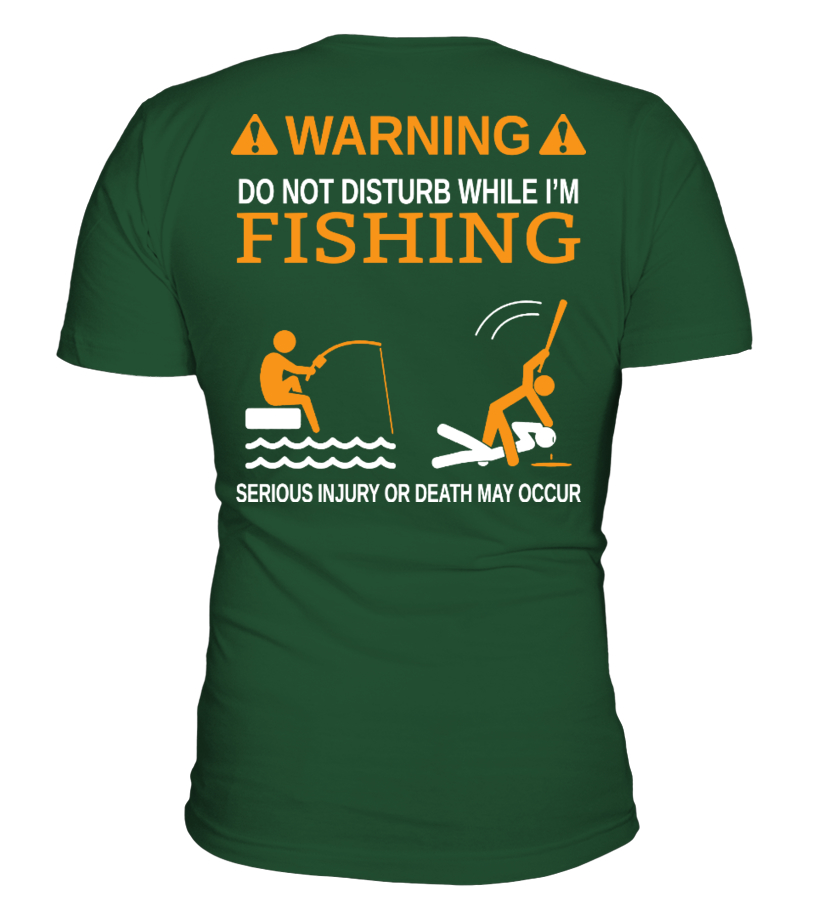 DO NOT DISTURB WHILE I'M FISHING
