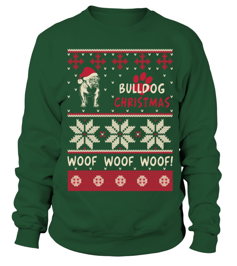 Amazing Christmas - Bulldog Christmas Sweater Shirt Sweatshirt Unisex