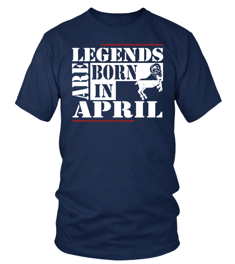 Legends are born APRIL ARIES Shirts