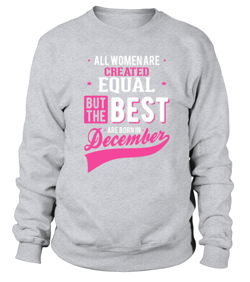 Awesome Women Born In December The Best Month T Shirt Birthday Gift