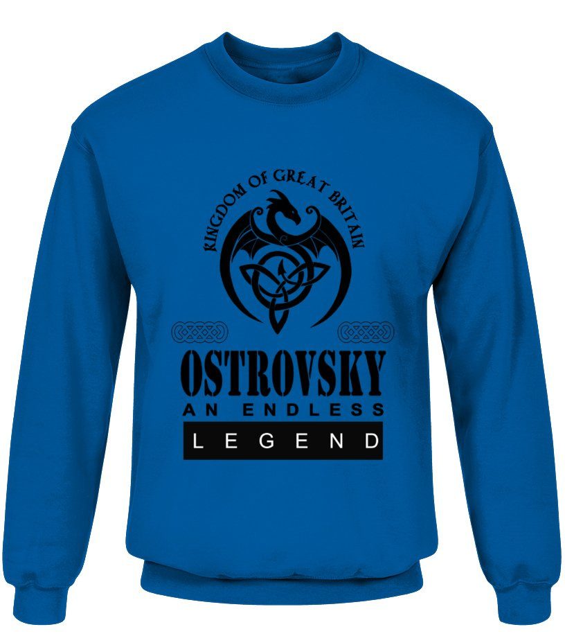 THE LEGEND OF THE ' OSTROVSKY '