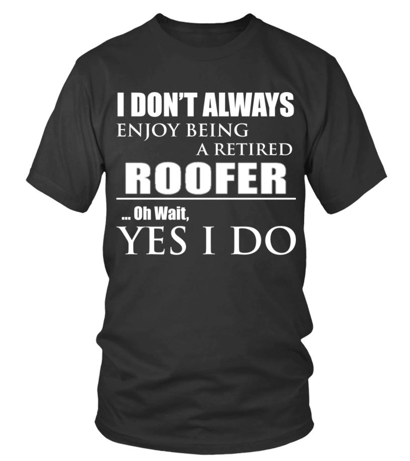 Amazing Roofer - ROOFER Round neck T-Shirt Unisex