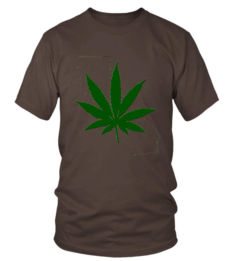 Marijuana Legal In California Pot Weed Passed T-shirt