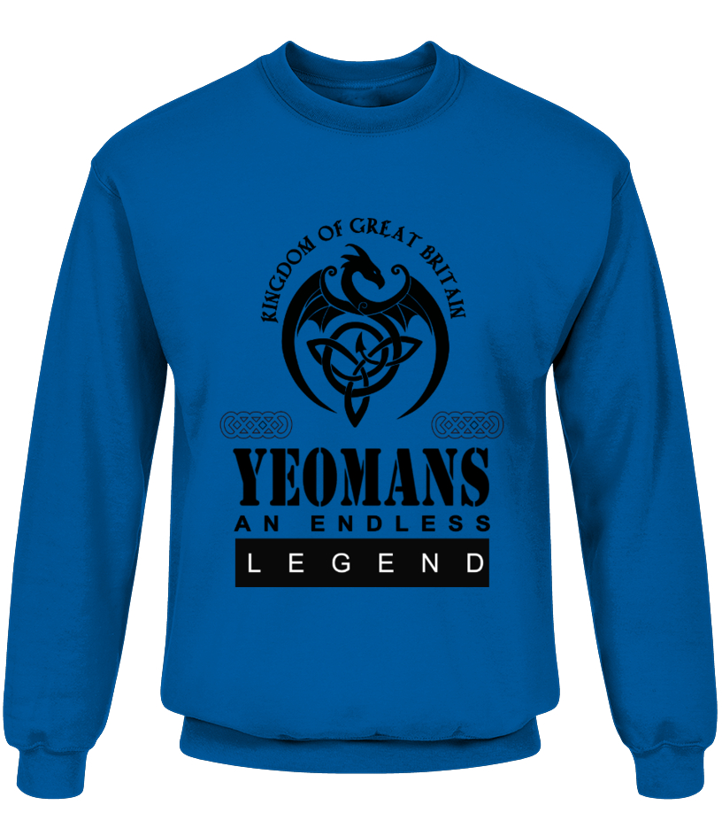 THE LEGEND OF THE ' YEOMANS '