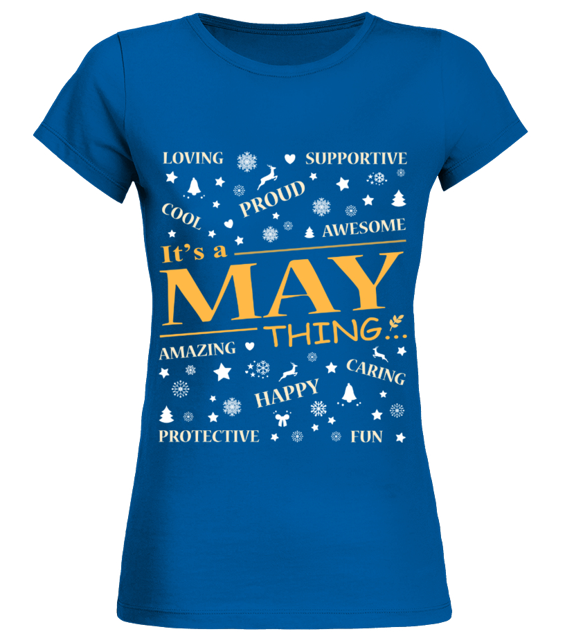 IT IS MAY THING