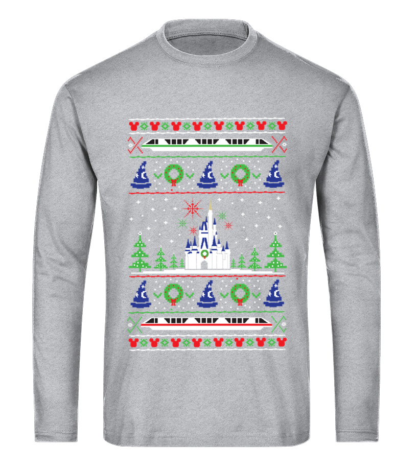 Shop Christmas - Magical Kingdom Christmas Sweater Long sleeved T-shirt Unisex