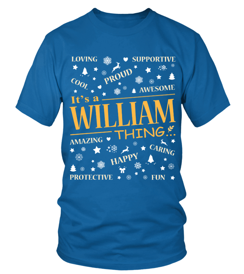IT IS WILLIAM THING