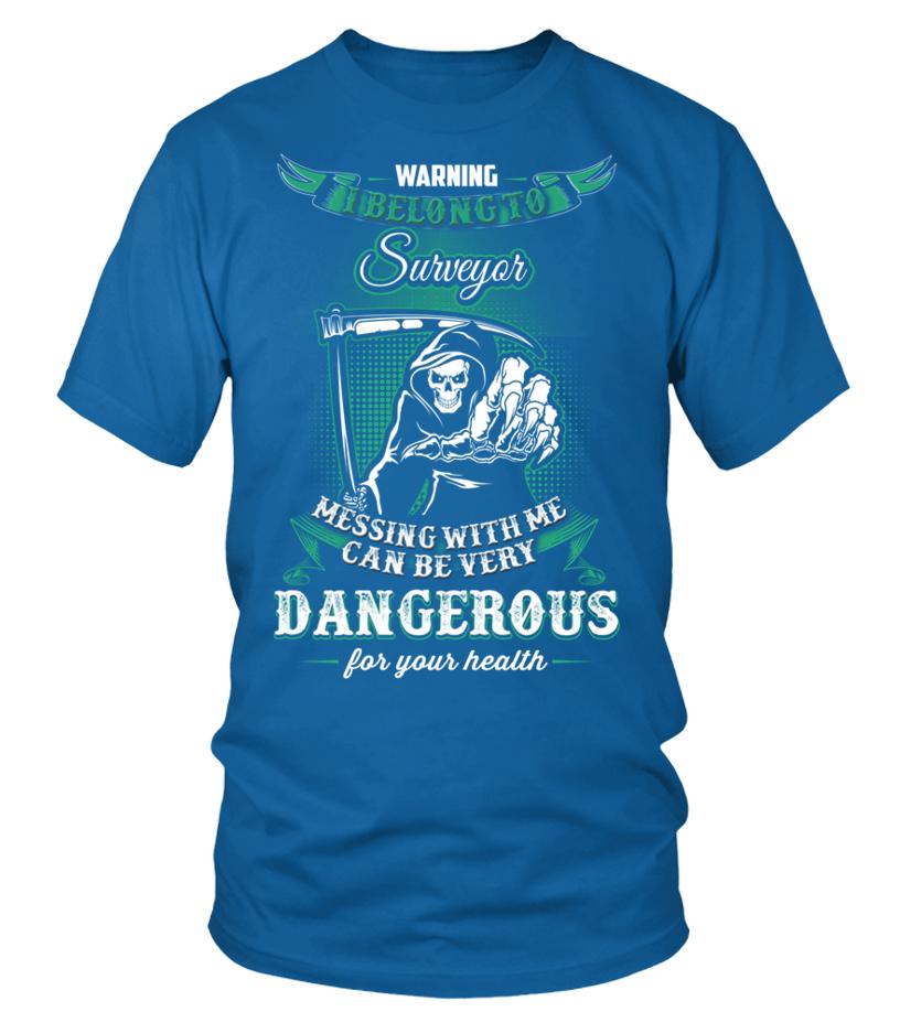 Gifts Surveyor - SURVEYOR Round neck T-Shirt Unisex