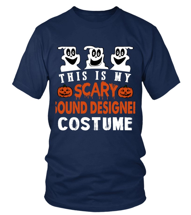 This is My Scary Sound designer Costume