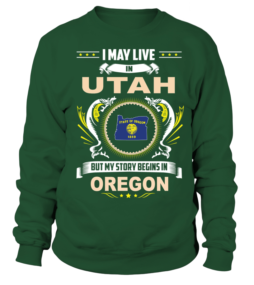 May I Live In UTAH But My Story Begins In OREGON