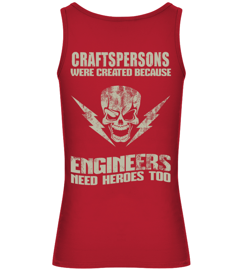Funny Crafts - CRAFTSPERSONS Tank top Woman