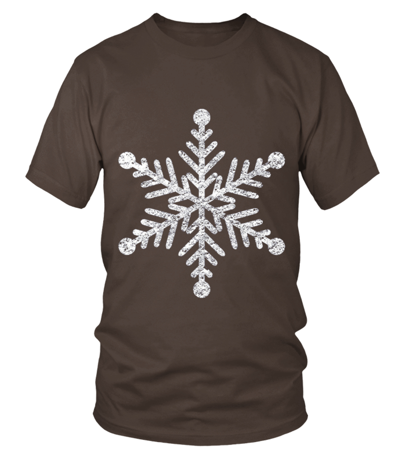 Excellent Kids Distressed Holiday Snowflake Snowy Christmas T-shirt ...