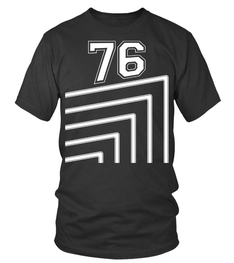 Number 76 Shirts