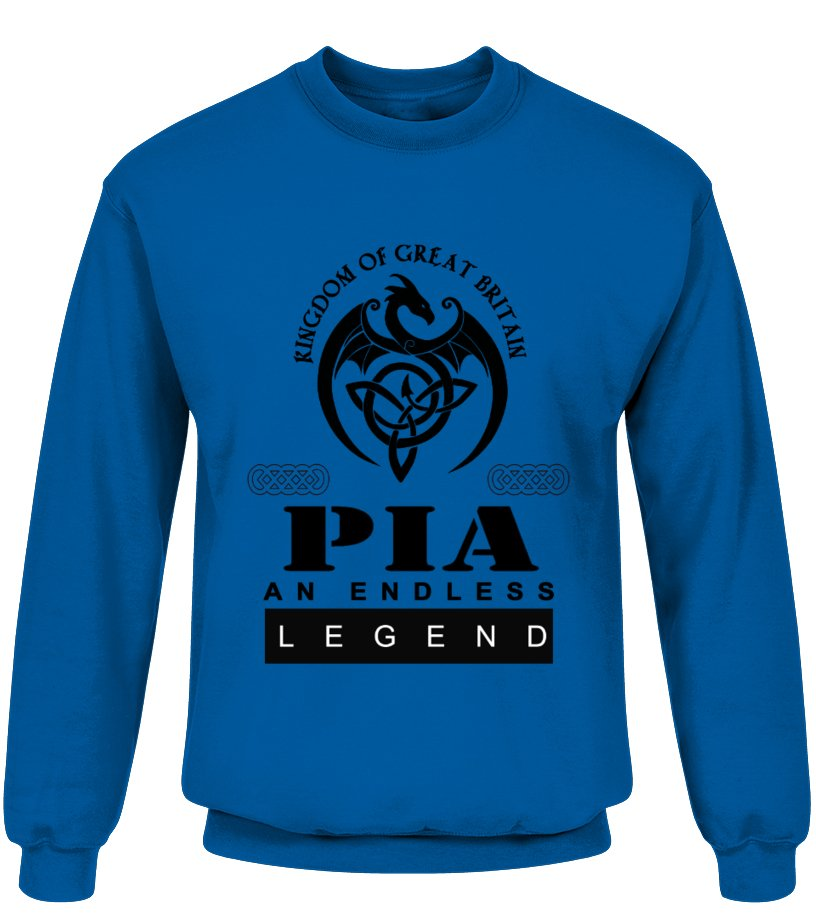 THE LEGEND OF THE ' PIA '