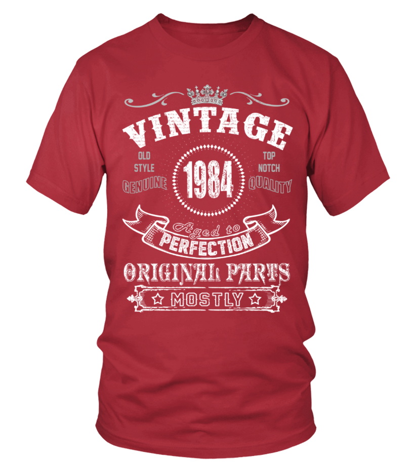 1984 Vintage Aged To Perfection Original