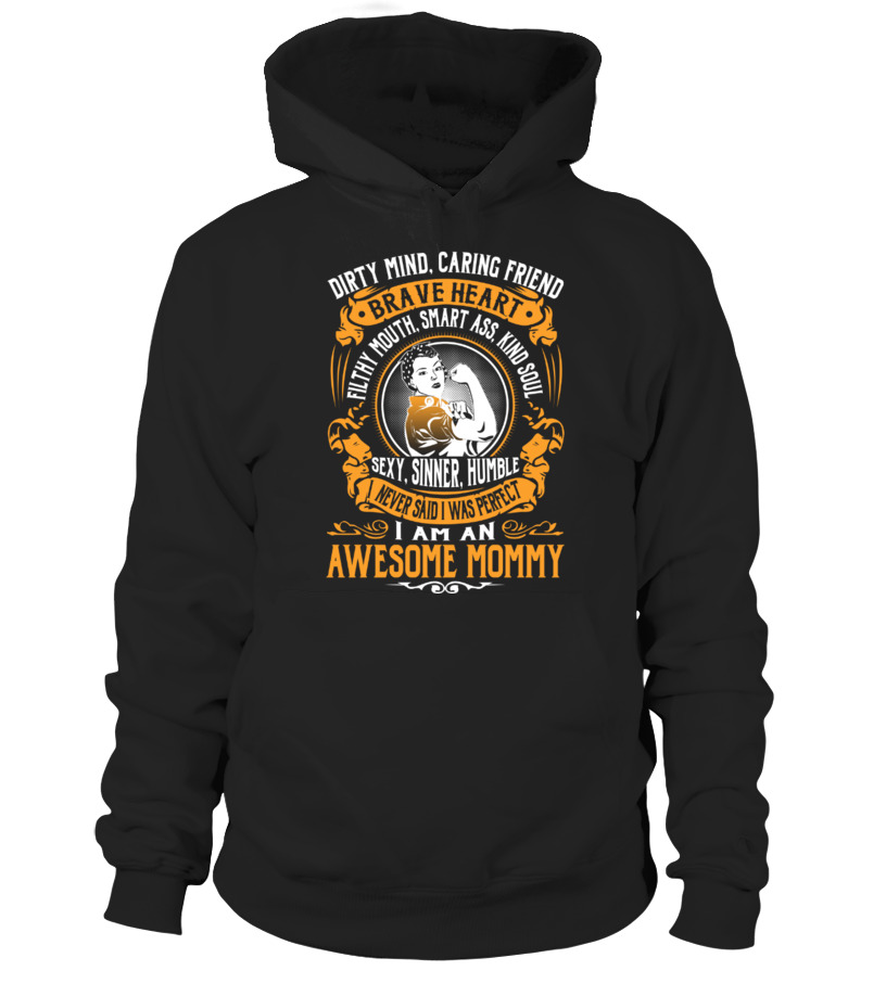 Funny Mother T-Shirt - Awesome Mommy Hoodie Unisex