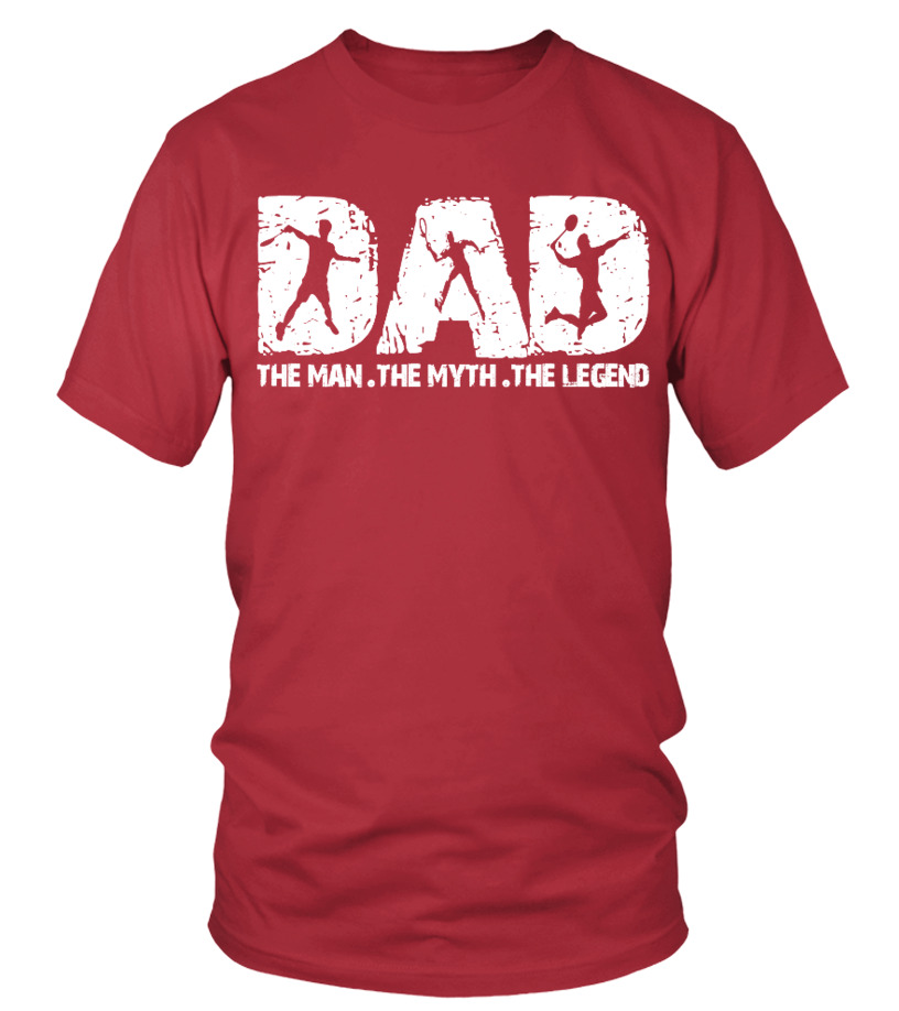 Best Badminton DAD  Ever T Shirt