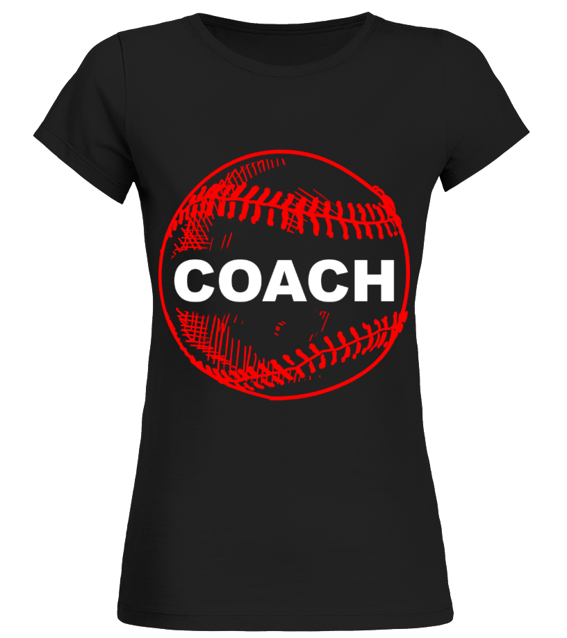 Amazing Baseball - Gift Tee For Baseball Coach Softball Sports HOT SHIRT Round neck T-Shirt Woman