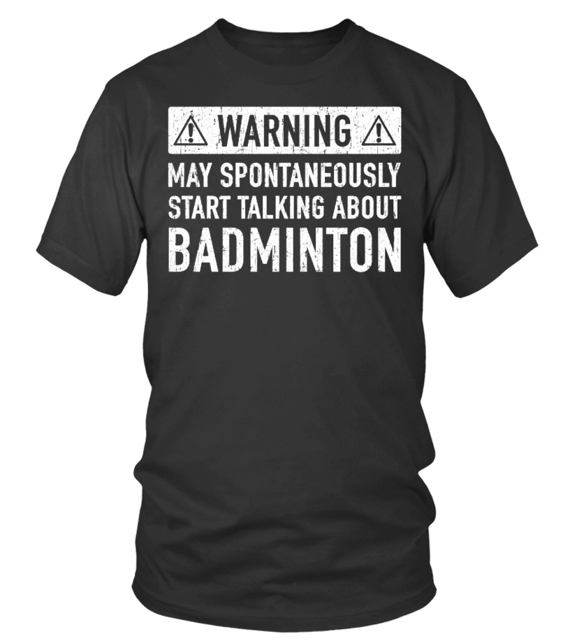 Badminton Related Funny Gift