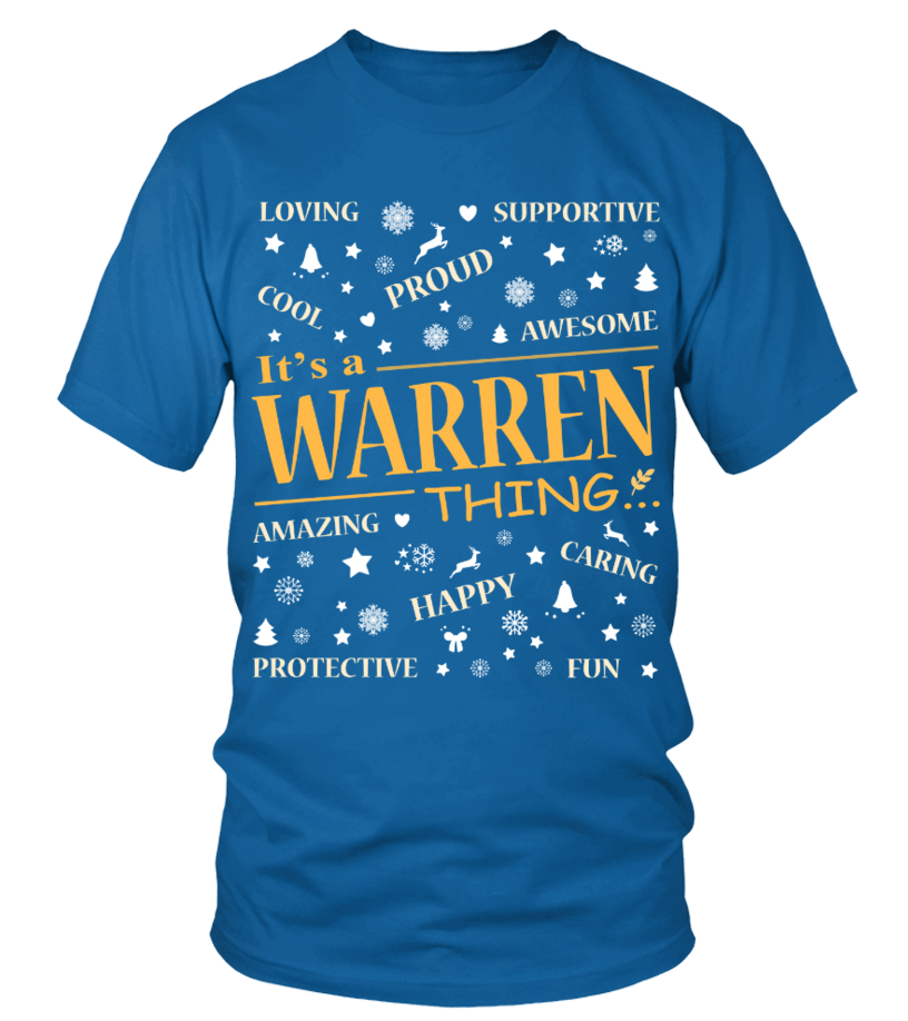 IT IS WARREN THING