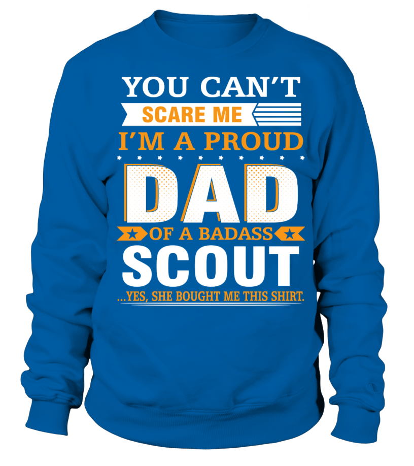 008f7475 Cool Dad And Badass Scout T-shirt, V-neck, Long Sleeve, Hoodies ...