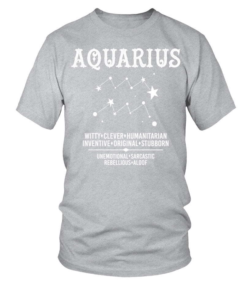 Marvellous Aquarius Zodiac Sign T Shirt Tshirt, Hoodie, Vneck